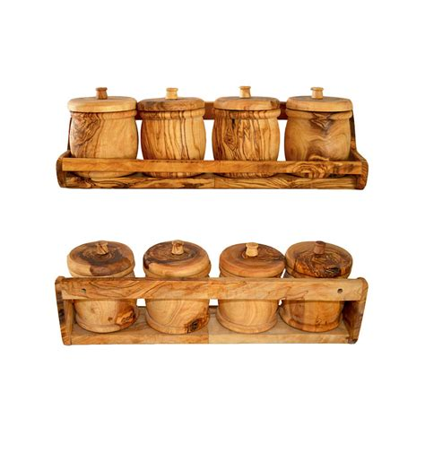 spice rack  wooden  boxes