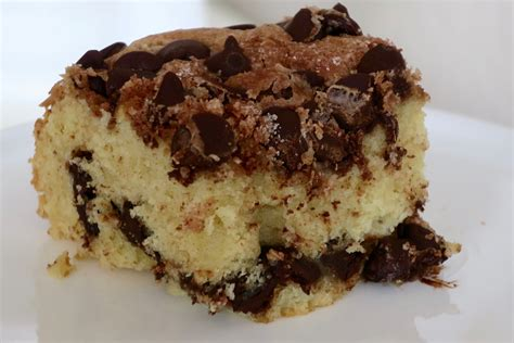 I've baked this chocolate chip cake, ever since. Sour Cream Coffee Cake with Chocolate Chips! - CHANA'S ART ROOM