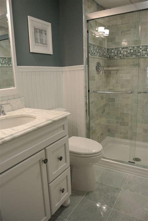 Beach Condo Bathroom Ming Green Marble Tile Pinteres