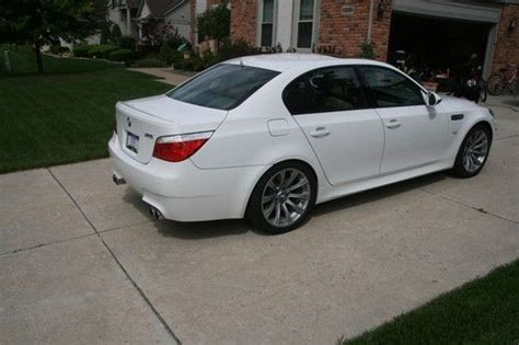 Buy Used 2009 Bmw M5 Factory Bmw Service And Platinum Bmw