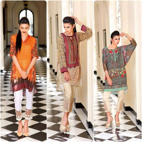 women clothing collection for new year 2016 2017 thankar new sobia nazir pret kurtis collection 2016 stylo planet