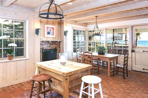 Million Dollar Malibu Estate Yellow Kitchen Tiles Galley Layout Ideas Contemporary Designs Hoods Cottage Pictures Rustic Cabinets Island For Sale Tile