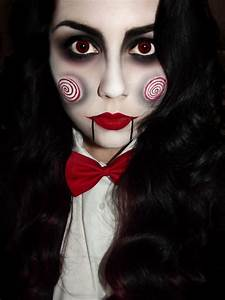 Halloween Make Up Puppe : saw special billy the puppet costume makeup tutorials and masks ~ Frokenaadalensverden.com Haus und Dekorationen