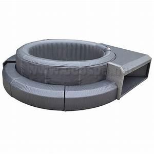 Mobilier Gonflable Exterieur : mobilier rsine tresse pour spa gonflable boospa ~ Premium-room.com Idées de Décoration