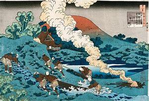 Résultat d'images pour hokusai vague