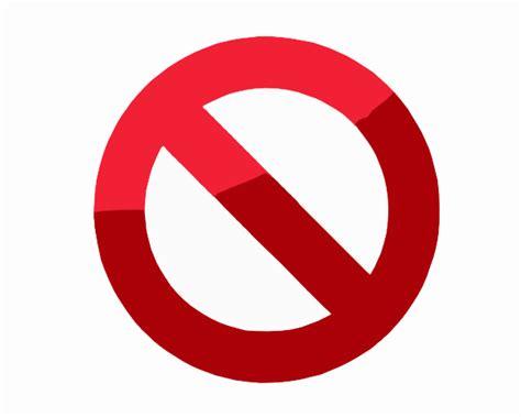 Do Not Symbol Clip Art At Clkercom  Vector Clip Art