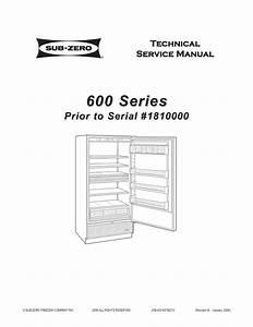 27 Sub Zero 650 Parts Diagram
