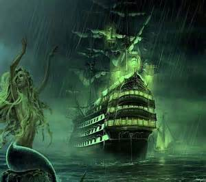 Ghost Pirate Ship Mermaids