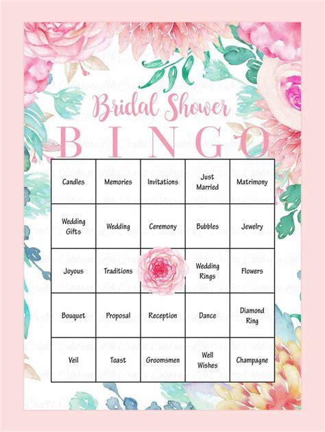10 printable bridal shower games you can diy wedding fun