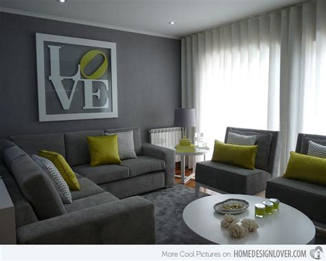 quel cuir pour un canapé 15 lovely grey and green living rooms home design lover