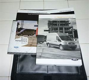 2017 Ford Transit Owners Manual Set Guide 17 W  Case Xl Xlt