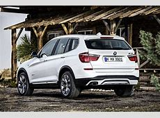 BMW X3 F25 specs & photos 2014, 2015, 2016, 2017