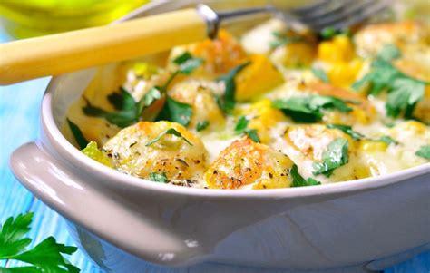 cuisiner butternut gratin simple et bon gratin butternut potimarron et petits lardons