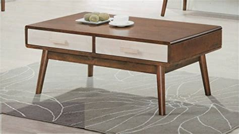 star ark zoho wooden coffee table  drawers mdf