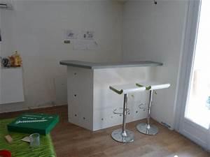 Fabriquer Un Bar : fabrication bar de salon ~ Carolinahurricanesstore.com Idées de Décoration