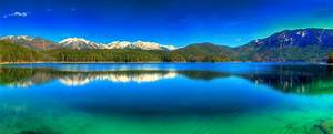 Nature, Landscape, Panoramas, Lake, Mountain, Forest