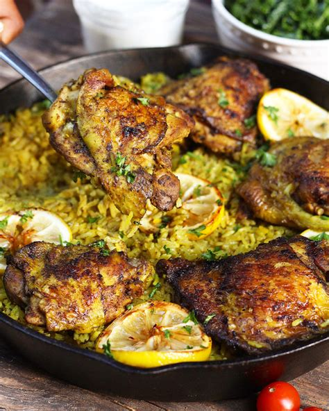 Vegeta is a spice mix that is sold in middle eastern stores. One Pot Middle Eastern Chicken and Rice | Recipe | Indian ...