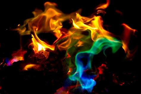 Color Your Fire Magical Flames Adds Colorful Flames To A