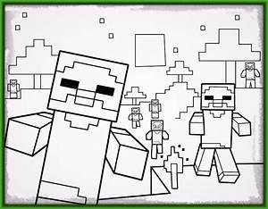 dibujos para pintar e imprimir de minecraft Archivos Imagenes de Minecraft