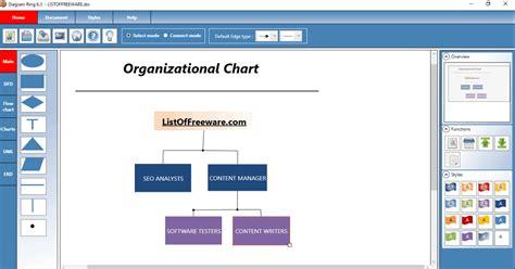organizational chart maker software  windows