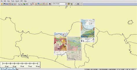 lembar geologi jawa tengah basemap