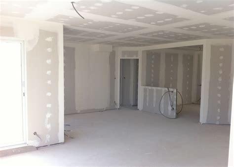 de cuisine seb pose des placos et isolation intérieure