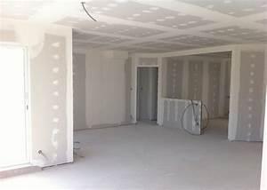 Pose Verriere Sur Placo : pose des placos et isolation int rieure ~ Melissatoandfro.com Idées de Décoration