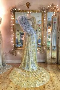 Pale Blue Ostrich Feather Capelet Stole By Joanne Fleming