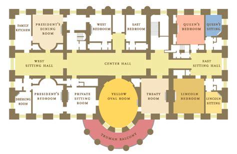floor plans of the white house whitehouse floor plan