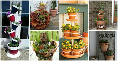 creative clay pot crafts