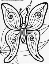 Coloring Butterfly Pages Printable Adults Animals Adult Rainforest Abstract Books Sheets Flower Animal Mandala Preschool Barn Templates Printables Insect Popular sketch template