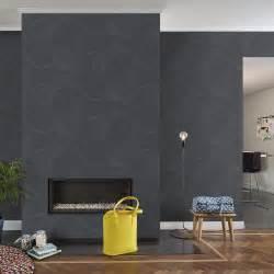 Pose De Papier Peint Intissé : papier peint intiss uptown noir leroy merlin ~ Dailycaller-alerts.com Idées de Décoration