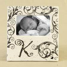 monogram picture frame letter k 35quot x 55quot opening 75 With letter k picture frame