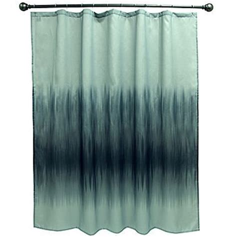 teal and navy ombre shower curtain home ideas