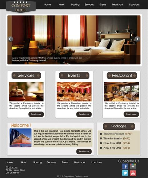 templates design  photoshop httpwebdesigncom