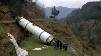 China Cgtn Debris Rocket Parachute Parachutes System