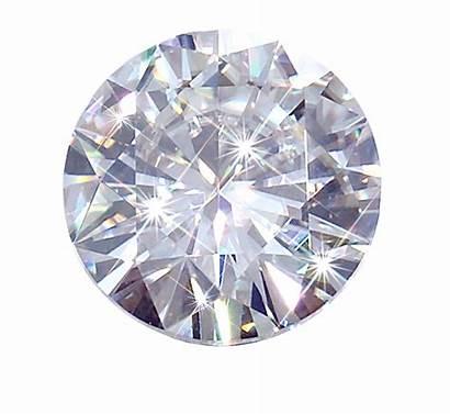 Diamond Transparent Round Single Jewellery Diamonds Pink