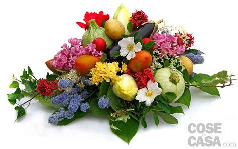 centro tavola il centrotavola con ortaggi e fiori cose di casa