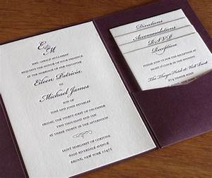 5 unique wedding invitations for inspiration With wedding invitations with pockets folders