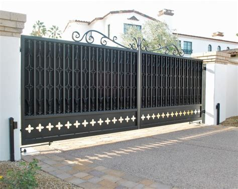 daylight basement homes driveway gates traditional exterior by