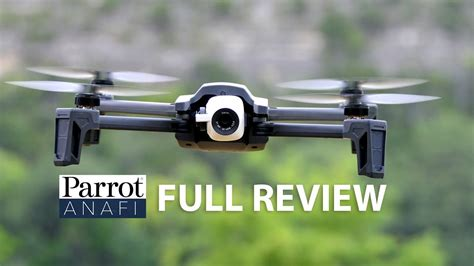 parrot anafi drone review youtube