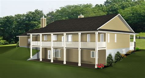 Walkout Basements Plans By Edesignsplansca (2), Simple