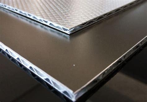 experienced supplier   fireproof aluminum sandwich panelcorrugated aluminum core sandwich