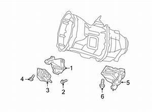 Dodge Ram 3500 Transmission  Mount  Bracket  Support