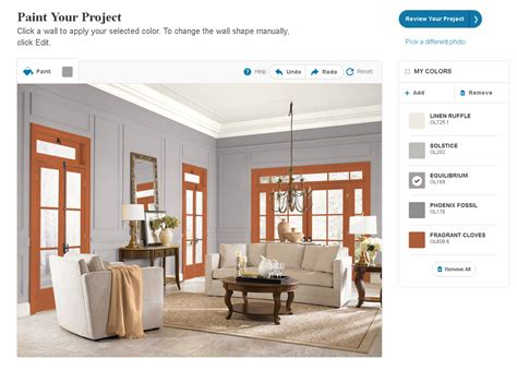 paint and stain color scheme simulator a marketplace of