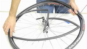 How To Repair A Flat Tire On A Road Bike Using Tire Levers