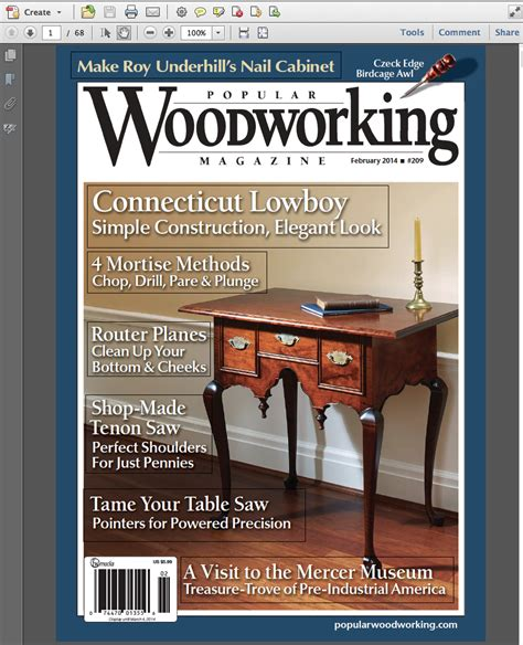 february digital issue read   popular woodworking magazine