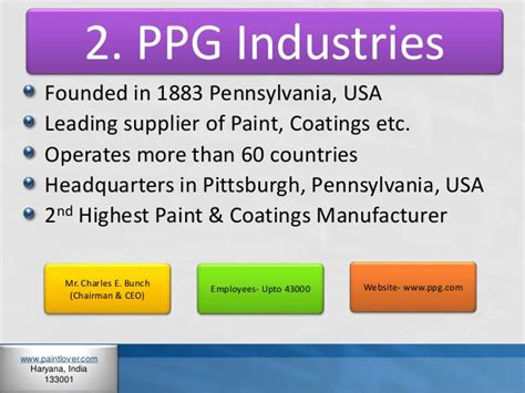 Akzonobel about company it was founded in 1994 amsterdam, netherlands. 10 Best Paint Companies in World