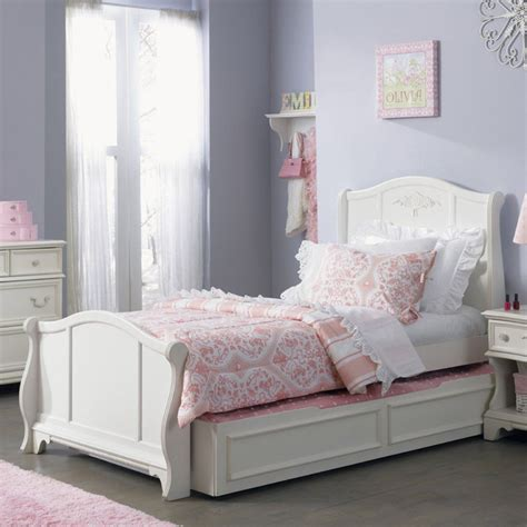 arielle sleigh trundle bed  masterful bed perfect