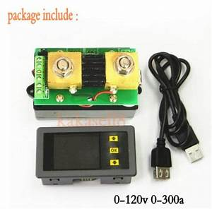 Dc 120v 300a Lcd Combo Meter Wireless Voltmeter Current